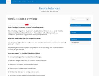 heavyrotations.com screenshot