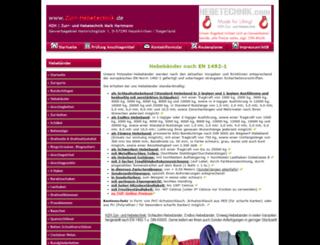 hebebaender.com screenshot
