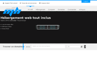 hebergement-sites-internet.ch screenshot