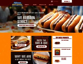 hebrewnational.com screenshot