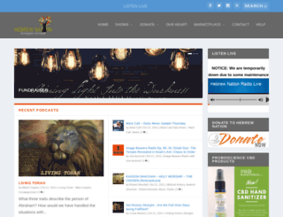 hebrewnationonline.com screenshot