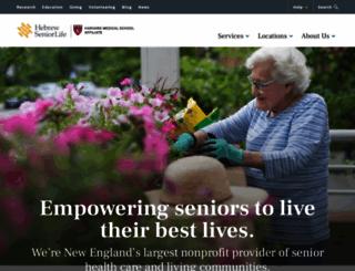hebrewseniorlife.org screenshot
