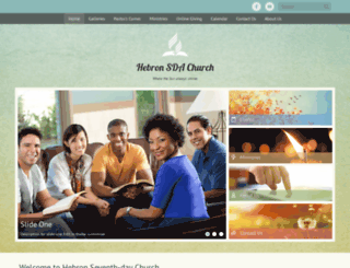hebron22.adventistchurchconnect.org screenshot