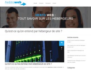 hebtoweb.com screenshot