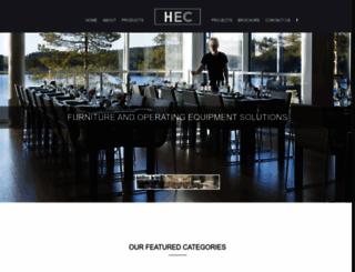 hec-ksa.com screenshot