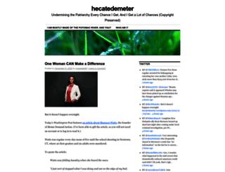 hecatedemeter.wordpress.com screenshot