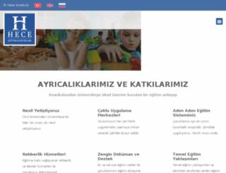 heceegitim.com.tr screenshot