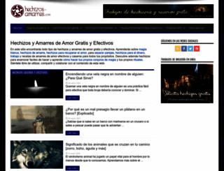 hechizos-amarres.com screenshot
