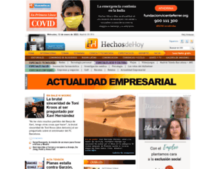 hechosdehoy.com screenshot