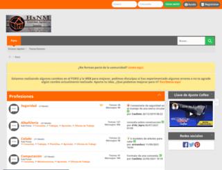hechoxnosotrosmismos.net screenshot