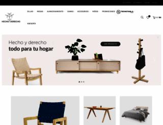 hechoyderecho.com screenshot