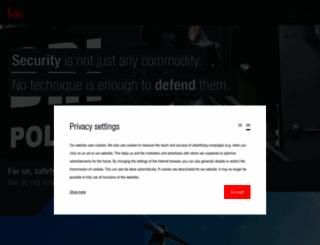 heckler-koch.com screenshot
