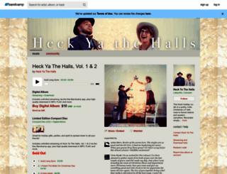heckyathehalls.bandcamp.com screenshot