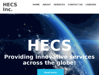 hecsinc.com screenshot