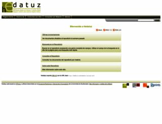 hedatuz.euskomedia.org screenshot