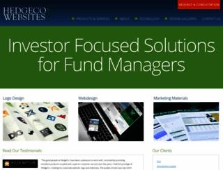 hedgecowebsites.com screenshot
