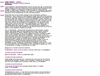 hedgeproject.com screenshot