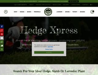 hedgexpress.co.uk screenshot