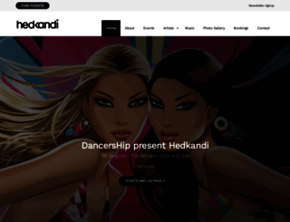 hedkandi.com screenshot