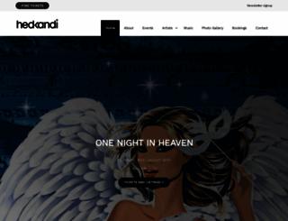 hedkandi.com screenshot