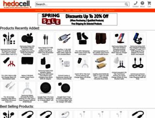 hedocell.com screenshot