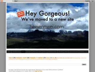 heejennwei.blogspot.co.uk screenshot