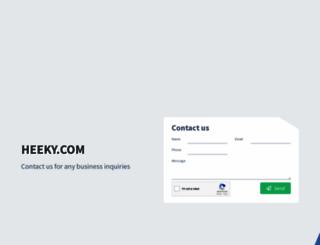 heeky.com screenshot