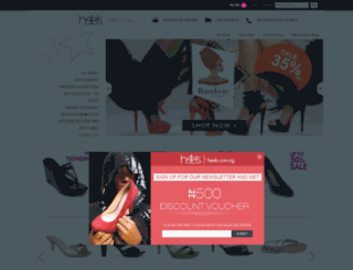 heels.com.ng screenshot