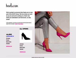 heels.com screenshot