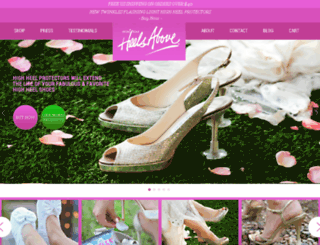 heelsabove.com screenshot