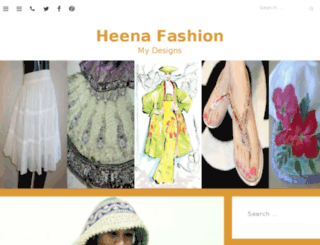 heenadesigner.com screenshot