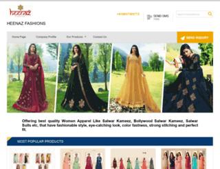 heenaz.com screenshot