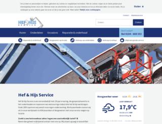 hefenhijsservice.nl screenshot
