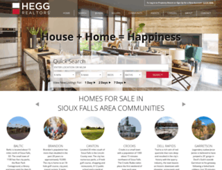 hegg.com screenshot