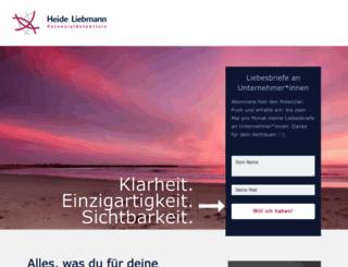 heide-liebmann.de screenshot