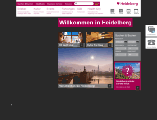heidelberg-marketing.de screenshot
