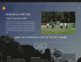 heidelberggc.com.au screenshot