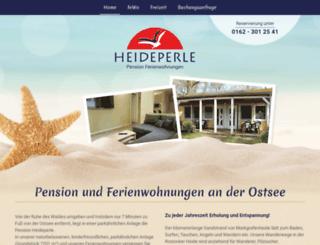 heideperle.net screenshot