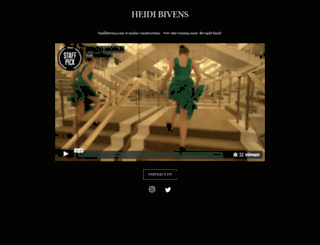 heidibivens.com screenshot