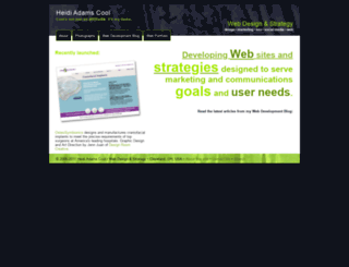 heidicool.com screenshot