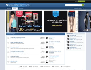 heightdiscussion.com screenshot