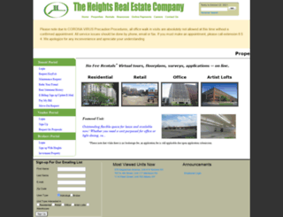 heightsre.com screenshot