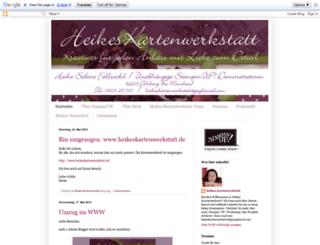 heikes-kartenwerkstatt.blogspot.com screenshot