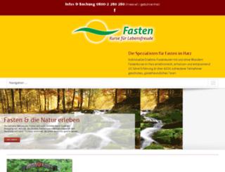 heilfasten-harz-yoga.de screenshot