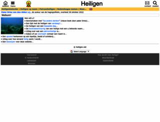 heiligen.net screenshot