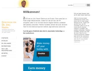 heiligerhaider.wordpress.com screenshot