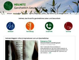 heilnetz.de screenshot