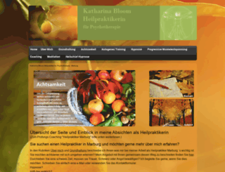 heilpraktiker-katharina-bloom.de screenshot