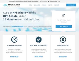 heilpraktikerschule-intensivkurs.de screenshot
