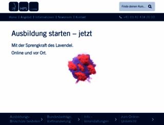heilpraktikerschule.ch screenshot